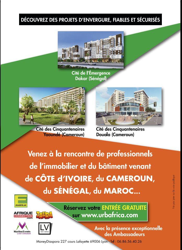 Immobilier l ambassade du cameroun paris soutient le for Salon de l immobilier paris 2017