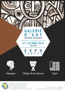 [ARTS] Expo-vente d'objets d'art et de masques @ Sopciété des Missions Africaines | Lyon | Auvergne-Rhône-Alpes | France