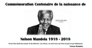 [HOMMAGE] Célébration du Centenaire de la naissance de Nelson Mandela à Lyon @ Esplanade Madela | Lyon | Auvergne-Rhône-Alpes | France
