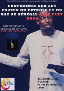 [SENEGAL] Conférence à Lyon sur les enjeux du gaz du pétrole uu Sénégal @ Maison des étudiants | Lyon | Auvergne-Rhône-Alpes | France