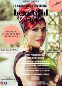 [MODE - BEAUTE] 5e édition de Beautiful Sista @ In Sted | Lyon | Auvergne-Rhône-Alpes | France