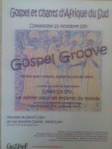 [CONCERT] Gospel et chants d'Afrique du Sud avec Gospel Groove @ Paroisse du Sacré coeur | Lyon | Auvergne-Rhône-Alpes | France