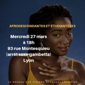 [ETUDIANTES] Rencontre mensuelle du Réseau des Femmes Afro-Descendantes Sitas to Sistas - Acte 3 @ Espace culturel africain