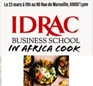 """[DECOUVERTES] Les étudiants de l'IDRAC organisent un concours culinaire """"In Africa Cook"""" @ La maison des étudiants"""