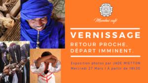[PHOTOS] Vernissage d'une exposition autour du Sahara (Algérie-Niger) @ Mumbaï Café