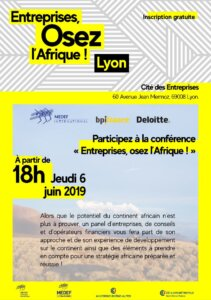 [ECONOMIE] Conférence « Entreprises, osez l'Afrique ! »  à Lyon @ Cité des entreprises