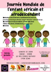 [ENFANTS] Journée Mondiale de l'enfant Africain à Lyon – Inscrivez votre enfant @ Salle Bayard