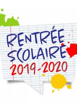 Date rentree scolaire 2019