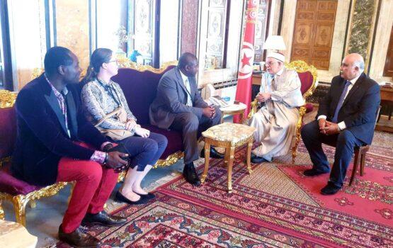 Africa 50 è l'Assemblée Nationale Tunisienne avec Jean Eric Sendé
