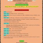 Journée culturelle à Lyon du vivre ensemble dans la paix et la diversité au Mali programme