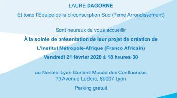 Institut métropole Afrique à Lyon