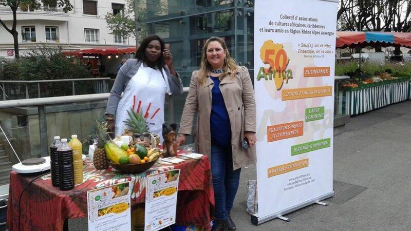 [CUISINE] Africa 50 a lancé la 3e édition de SAGALY depuis le marché de Jean Macé samedi 26 septembre 2015
