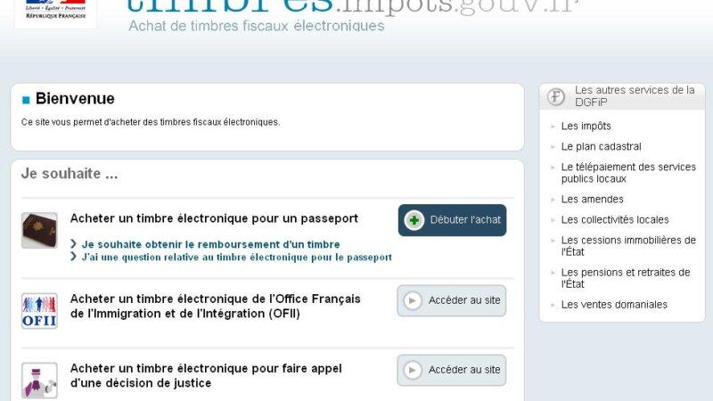 [PRATIQUE] Acheter le timbre fiscal pour le passeport sur internet, c'est simple et sur !