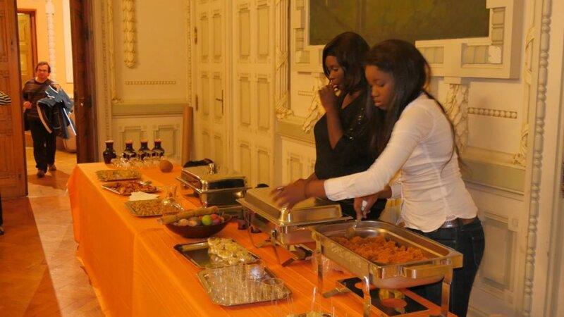 [SAGALY] La semaine s'est achevée par un buffet aux commerçants à la Mairie de Lyon 7e