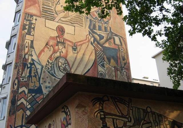 [PEINTURE] L'oeuvre de l'Ivoirien Youssouf Bath rayonne à Lyon 8e