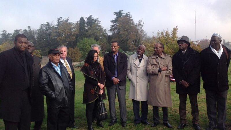[MEMOIRE] «Pour ne pas les oublier» Hommage 2015 aux soldats africains enterrés à La Doua