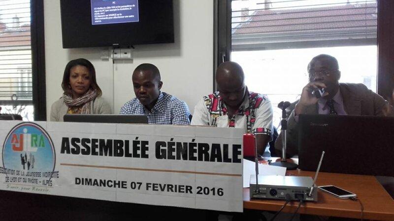[ASSOCIATION] Assemblée Générale de l'ALJIRA (jeunesse ivoirienne de lyon) ce 7 février #CotedivoireLyon