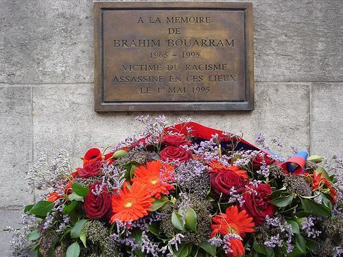 [MEMOIRE] Le 1er mai 1995 Brahim Bouarram était jeté dans la Seine par des barbares souvenez-vous