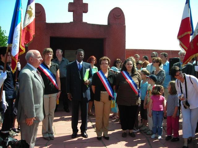 Hommage aux «TIRAILLEURS» : cérémonie du souvenir 2007 à Chasselay (69)