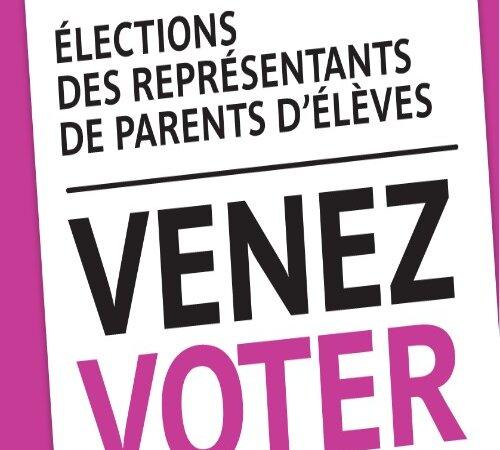 [ÉCOLE] Élections des représentants de parents d'élèves auront lieu le 12 ou  le 13 octobre 2012