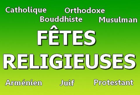 [PRATIQUE] Autorisation d'absence pour fêtes religieuses en 2012, c'est possible !