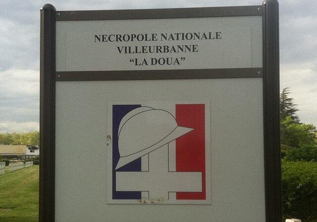 [MEMOIRE] Hommage aux soldats africains enterrés à La Doua (Villeurbanne) le 1er novembre 2014