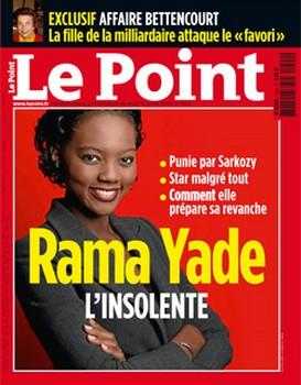 Rama YADE à la une du magazine Le Point