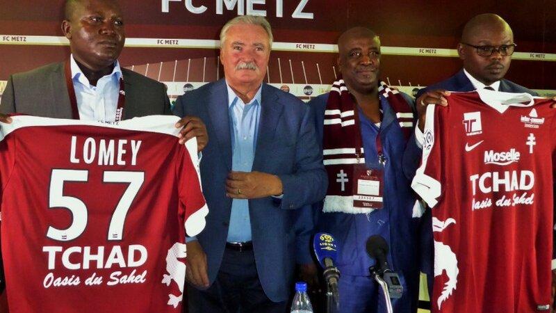 [FOOTBALL] Quand le Tchad devient sponsor du FC Metz en Ligue 1