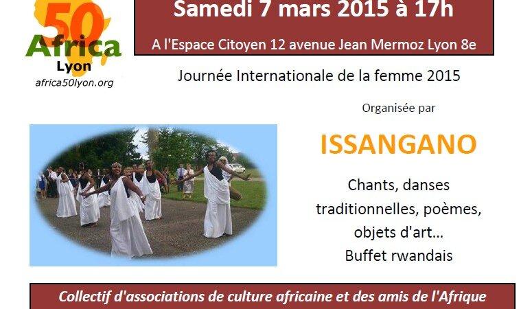 [JOURNEE DE LA FEMME] Issangano organise une rencontre le 7 mars à la Mairie du 8e
