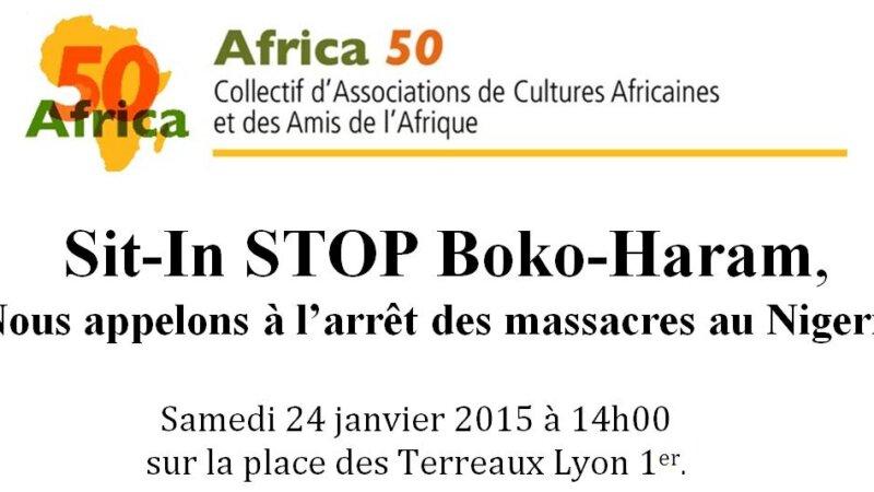[MOBILISATION]  Sit-In STOP BOKO HARAM samedi 24 janvier 2015 à Lyon