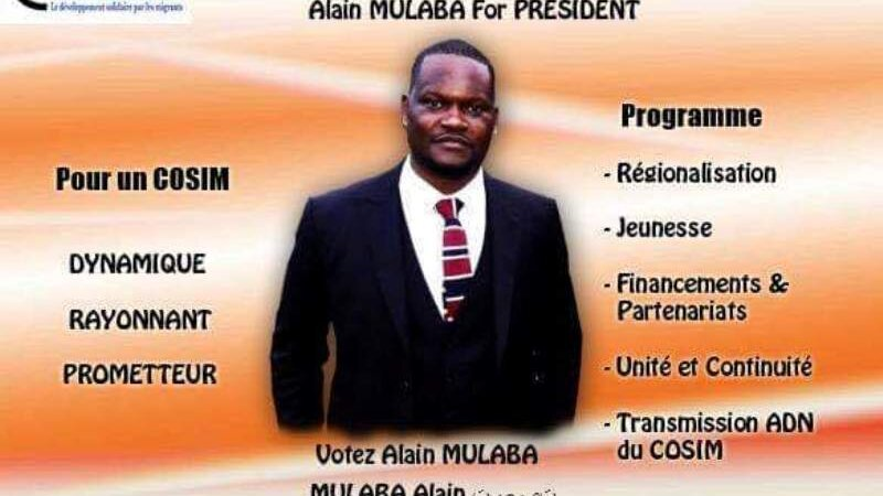 [ASSOCIATION] Alain Mulaba élu Président du Cosim Auvergne Rhône Alpes