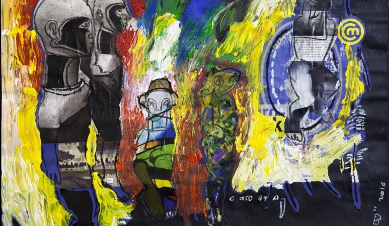 [EXPOSITION]  «Les Mutants», de Soly Cissé au musée Dapper Art Paris Art Fair du 24 mars eu 1er mai 2017