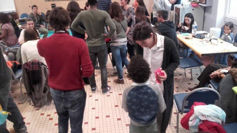 [ENFANTS] Vif succès de l'après-midi récréative «Aux couleurs du monde» ce 25 mars 2017 à Lyon