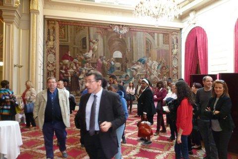 [CITOYENNETE] Plus de 40 personnes ont visité le Palais de l'Elysée à Paris à l'initiative du MIFERVAL ce 29 avril 2017