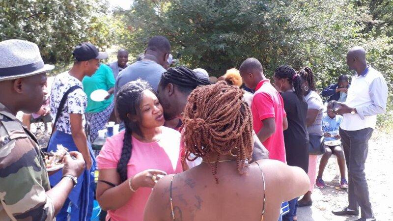 [COTE D'IVOIRE] Les Ivoiriens de Lyon ont célébré leur fête nationale dans une ambiance conviviale autour d'un barbecue