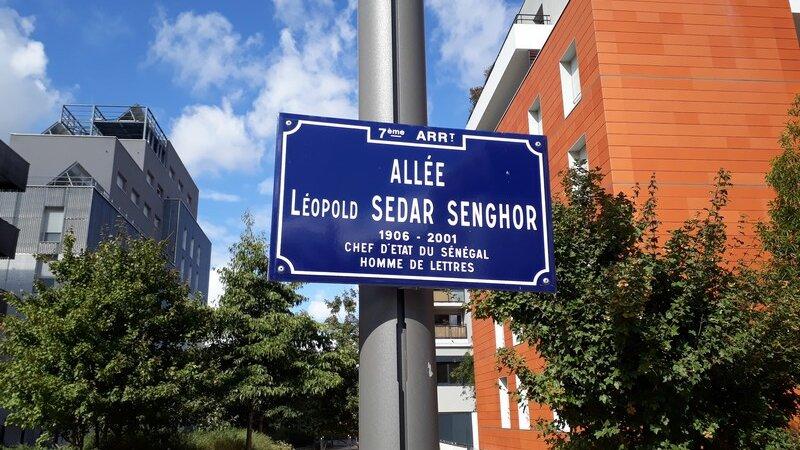 [L'AFRIQUE A LYON] L'allée Léopold Sédar Senghor dans le 7e