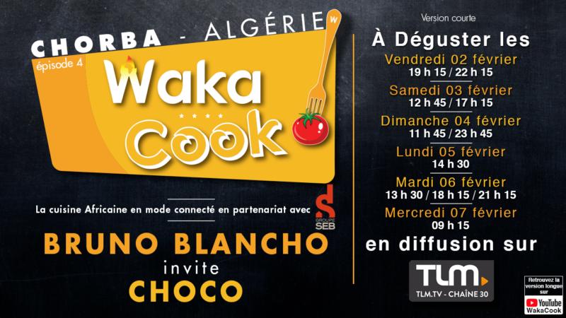 [TELEVISION] L'émission culinaire Wakacook avec Choco de Maquis Pluriel sur TLM à partir du vendredi 2 février 2018