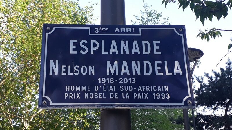 [L'AFRIQUE A LYON] L'esplanade Nelson Mandela dans le 3e