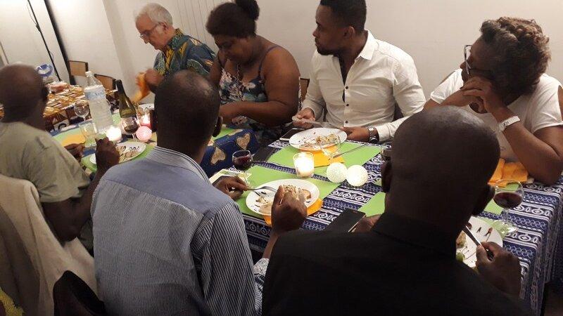 [SAGALY 2018] Soirée gastronomique du 13 octobre 2018 quand le chef congolais Jean-Marie nous offre un voyage culinaire entre valses et makossa (photos)