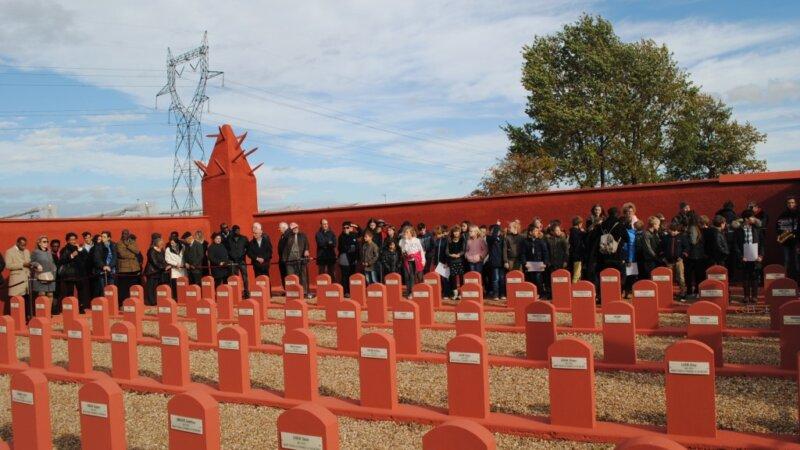 [CHASSELAY 2018] Hommage émouvant aux Tirailleurs africains massacrés par les Allemands ce 11 novembre 2018