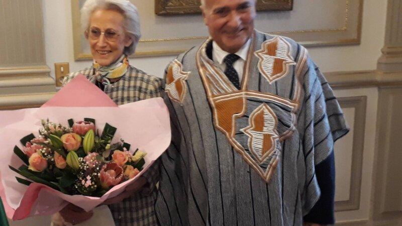 [COTE D'IVOIRE] Fin de mission émouvante pour Roland Roux de Chavanes Consul de Côte d'Ivoire à Lyon ce 17 mai 2019 (Photos)
