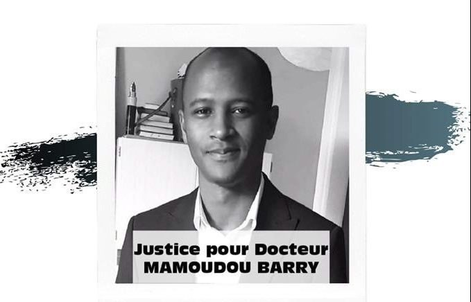 Marche hommage Mamadou Barry Lyon