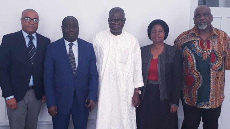 [COTE D'IVOIRE] Une délégation de la CIRAL reçue par le Consul Général de Côte d'Ivoire à Lyon le 12 juillet 2019