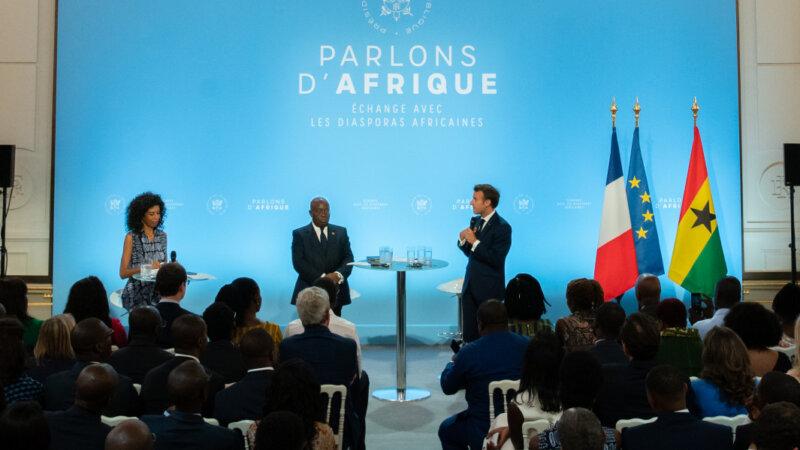 Macron rencontre les diasporas africaines