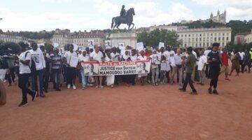 Marche hommage à Mamoudou Barry à Lyon le 28 juillet 2019