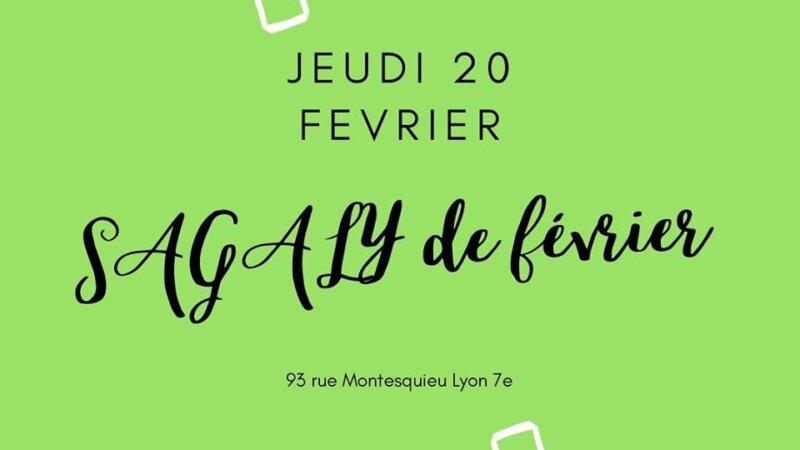 [CUISINE] Sagaly Février brochettes d'alocos et d'acra niébé carpaccio de mangues Jeudi 20 février 2020 à Lyon