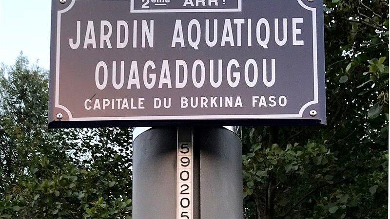 [L'AFRIQUE A LYON] Le jardin aquatique de Ouagadougou dans le 2e