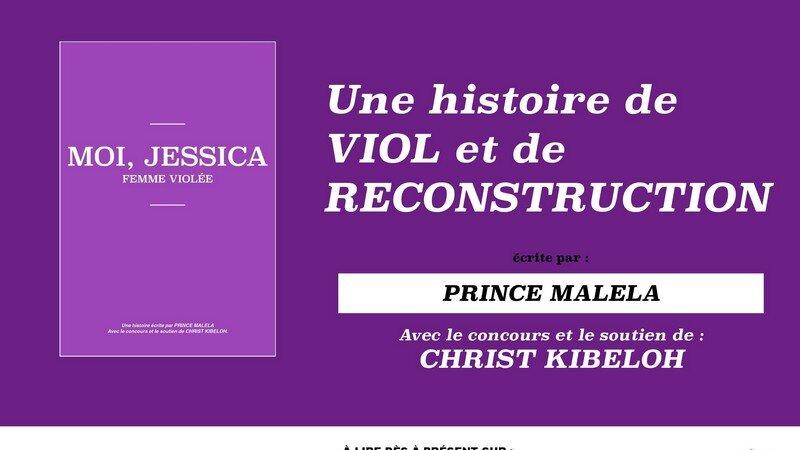 [LITTERATURE] « Moi, JESSICA, femme violée », l'histoire terrible d'une Congolaise de 15 ans victime d'un violente agression sexuelle en région parisienne
