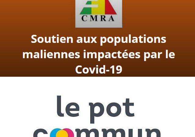 [MALI] Le CMRA crée une cagnotte solidaire pour venir en aide aux populations du Mali touchées par le Covid-19