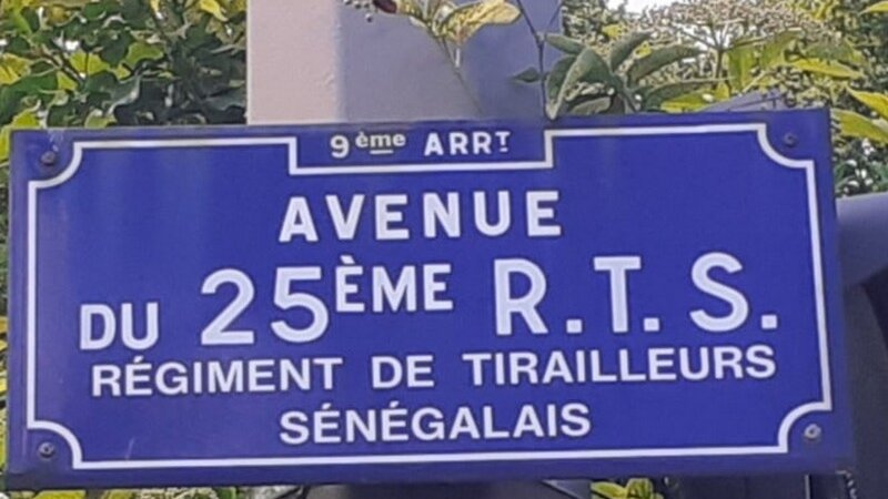 [L'AFRIQUE A LYON] L'avenue du 25e RTS (Régiment des Tirailleurs Sénégalais) dans le 9e